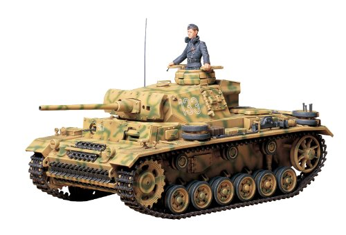 Tamiya Models Pzkpfw III Ausf L Tank Model Kit (Tamiya 1 12 Scale compare prices)