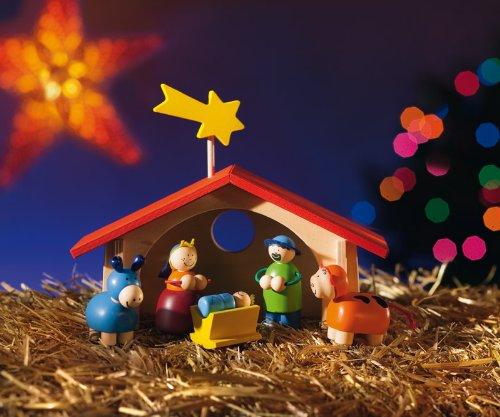 Selecta Spielzeug 5220 - Weihnachtskrippe