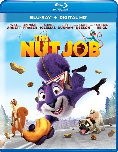 Blu-ray : The Nut Job (Ultraviolet Digital Copy, Snap Case, Digital Copy, Digitally Mastered in HD)