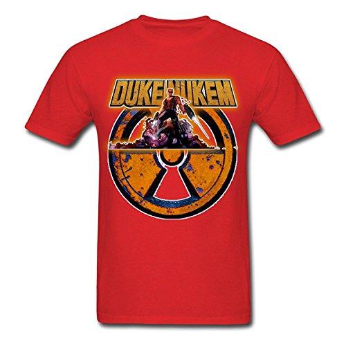 Creative Men's Duke Nukem T-Shirts Red
