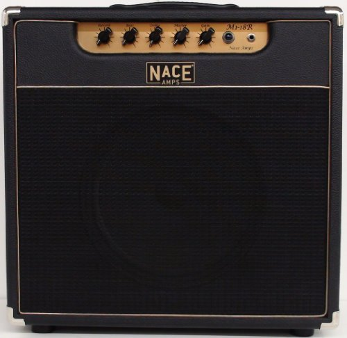 "Nace Amps M1-18R, Black Tolex, 18 Watts Clean, Up To 40 Watts Distorted, Celestion 12"" Greenback Speaker, With Reverb front-181737"