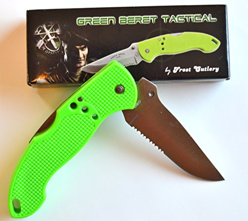 Green Beret Tactical Hunting Folding Pocket Knife