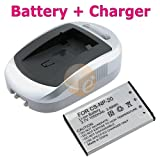 For Casio Exilim 3.7 Lithium-Ion NP-20 BATTERY + CHARGER ~ eForCity