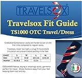Travelsox Flight Travel Socks OTC Patented Graduated Compression, TS 1000