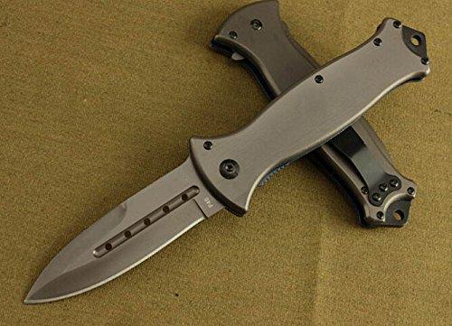 Black Rescue Speedster Hole Folding Pocket Knife Bkf45-8.66''