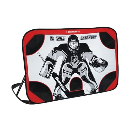 Franklin Pop Up Nhl Street Hockey Shoot Out Target Goal Net With
