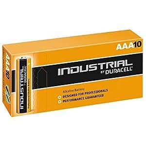 Duracell Industrial - Battery 10 x AAA Alkaline(MN2400-BULK10)