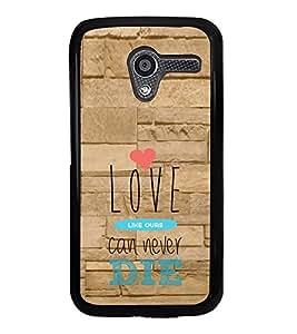 ifasho Designer Phone Back Case Cover Motorola Moto X :: Motorola Moto X (1st Gen) XT1052 XT1058 XT1053 XT1056 XT1060 XT1055 ( Start up Quotes )