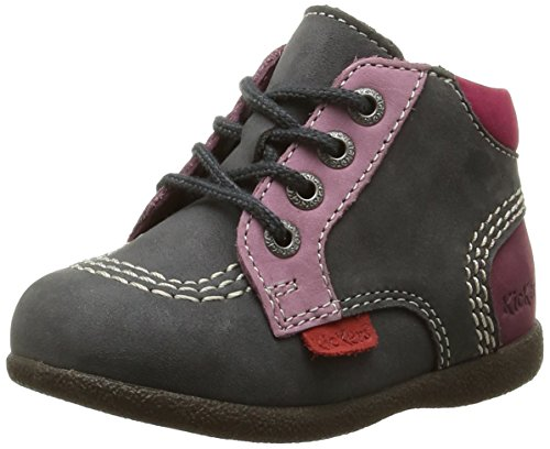 Kickers - Babystan, Baby Shoes per bimbi, grigio (gris/violet), 20