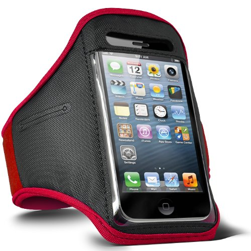 fone-case-htc-one-m7-adjustable-sports-fitness-jogging-arm-band-case-red