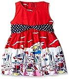 Little Kangaroos Girls' Dress (11521_Red_XX-Large)