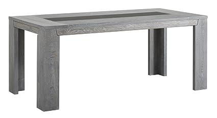 Titan Dining Table, 78 x 140 x 140 cm, Grey