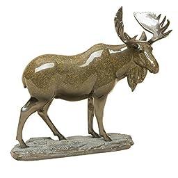 Big Sky Carvers Stonecast Marsh King Moose Sculpture by DEMDACO