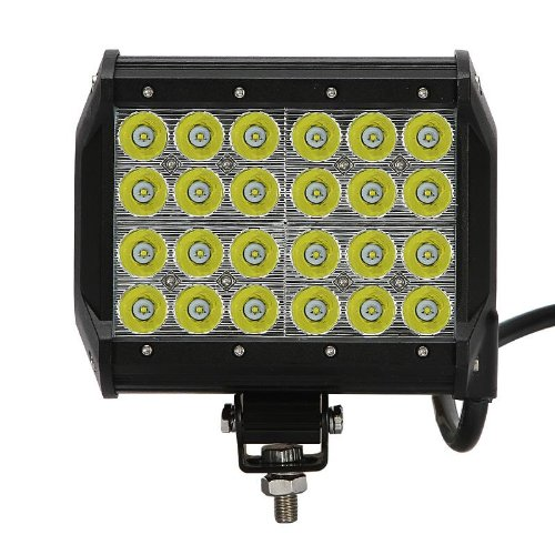 72W Cree Led Work Light Off-Road Vehicles Driving Light Ip68 5040Lumen Spot Beam 30 Degree