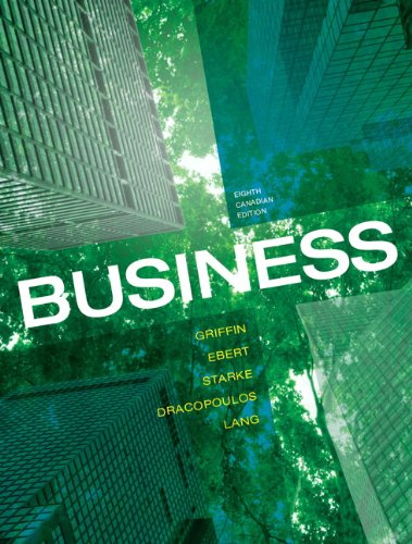 Business, Eighth Canadian Edition (8th Edition)