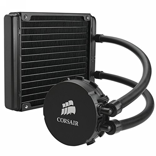 Corsair Hydro Series H90 140 mm High Performance Liquid CPU Cooler (H100 Water Cooler compare prices)