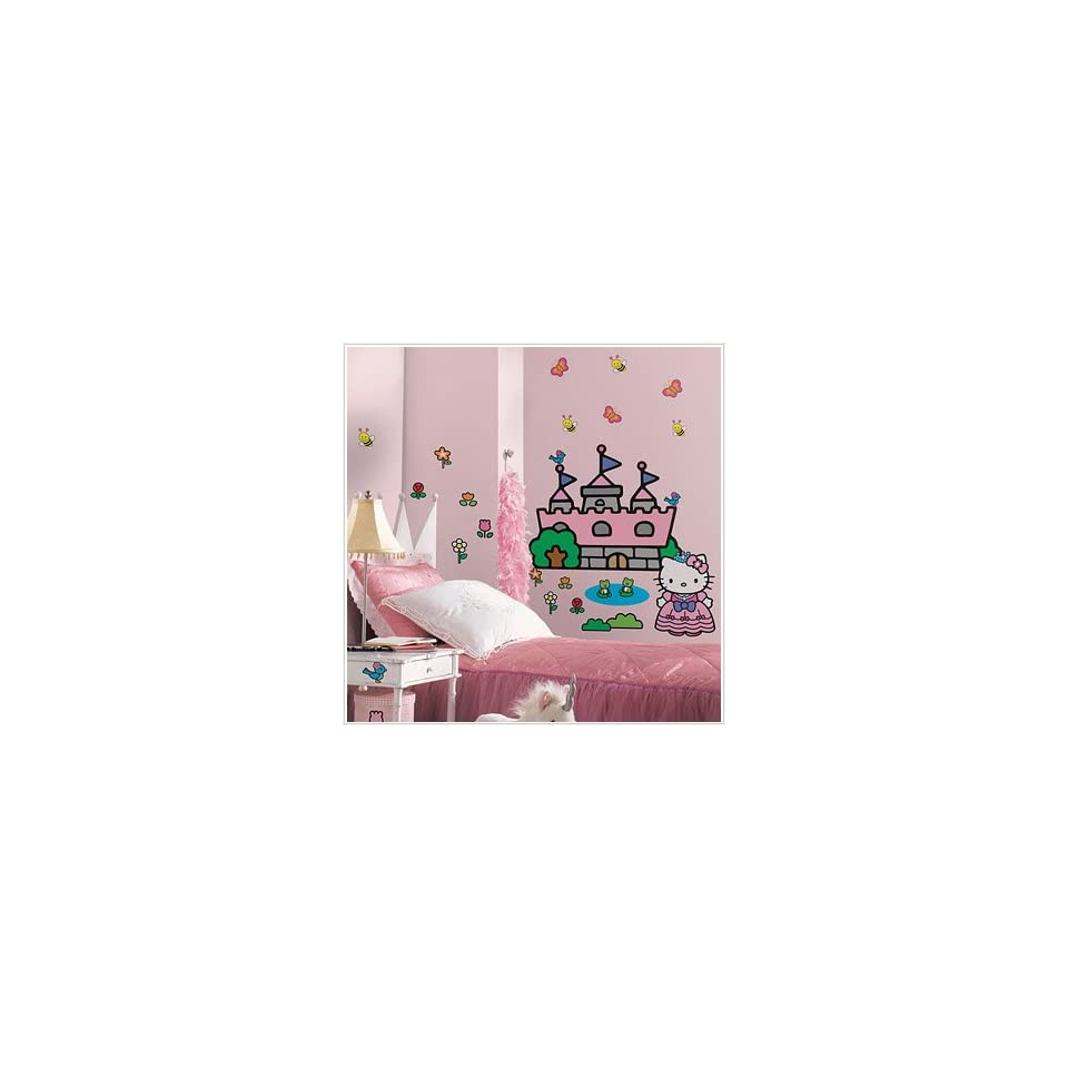 Hello Kitty Princess Wall Decal 40 x 18in