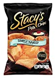 Stacys Pita Chips, Simply Naked, 8-Ounce Bags (Pack of 12)