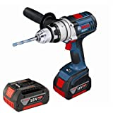 Bosch GSB18VE-2-LI 18v Robust Series Cordless Combi Drill in L-Boxx (2x 4.0Ah Batteries)