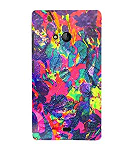 EPICCASE dragon painting Mobile Back Case Cover For Nokia Lumia 540 (Designer Case)