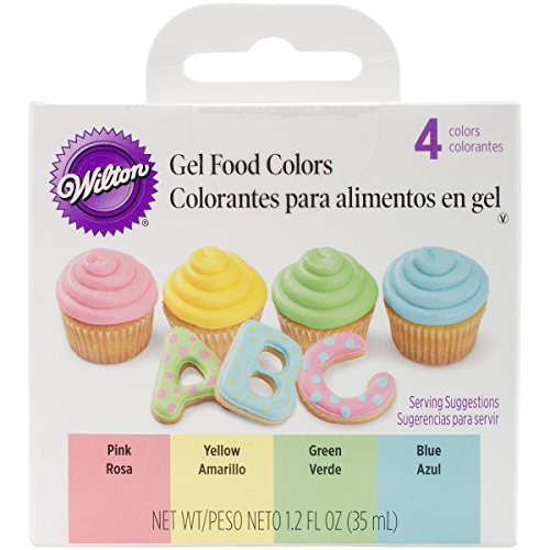 Wilton Gel Food Color Set