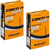 2本セット コンチネンタル(Continental) チューブ Race28 700×20-25C(仏式60mm)