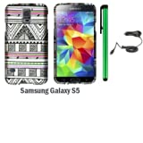 Samsung Galaxy S5 Premium Pretty Design Protector Hard Cover Case (2014 March Released; Carrier: Verizon, AT&T... by WAM Samsung Galaxy S5