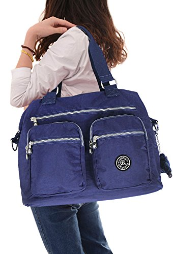 Womens Fashion 2 IN 1 Multipockets Hobo Style