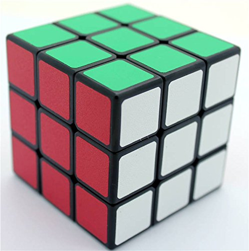 57mm Shengshou Sujie 3x3x3 Magic Cube Puzzle Spring Speed Cubes Black