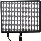 Aputure® Amaran AL-528S Projecteur portable 528 LEDs appareil photo reflex numérique vidéo/caméscope pour canon EOS 600D/1100D/550D/60D/5D, nikon D3100/D5100/D3200/D7000, sony, olympus