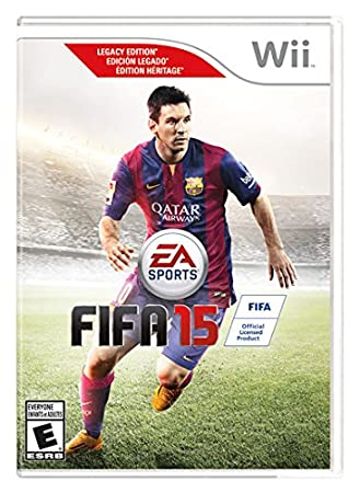 fifa 15 - Wii Legacy Edition
