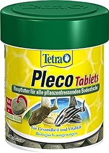 Tetra 752719 Pleco Tablets, Grünfutter-Tabletten mit einem hohen Anteil an Spirulina-Algen, 120 Stück