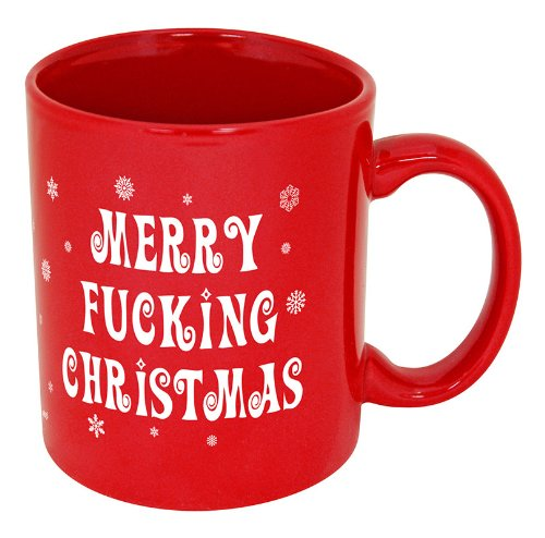 Christmas Sweater– Ugly Christmas Sweater!!– Christmas Costume– Choose Your Style!! (11oz, Red Mug Merry Christmas)