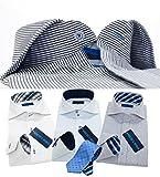 (メンズウーノ)men'sunoジャパンブランドワイシャツL-スマートud3枚 ネクタイ1本Yシャツ長袖ワイシャツyシャツ 4点ワイシャツセット ビジネス 形態安定 白 メンズ