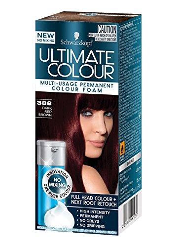 schwarzkopf ultimate schaumcoloration dauerhafte haarfarbe ohne mischen verschiedene farben. Black Bedroom Furniture Sets. Home Design Ideas