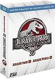 Jurassic Park 3D + Jurassic World 3D [Blu-ray 3D & 2D + Copie digitale]