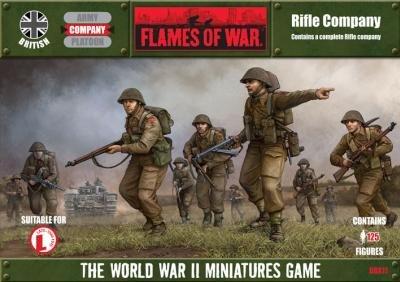 Flames of War: British British Rifle Company (Late) Boxed Set (Flames Of War British Rifle compare prices)