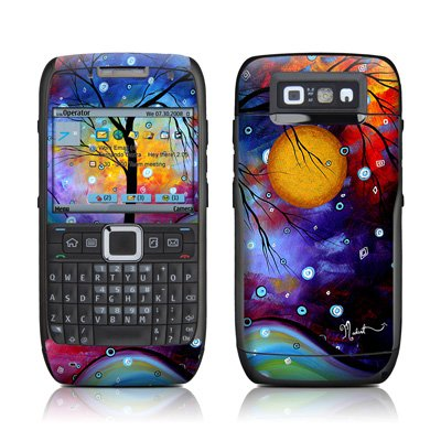Winter Sparkle Design Protective Skin Decal Sticker for Nokia E71 Cell Phone