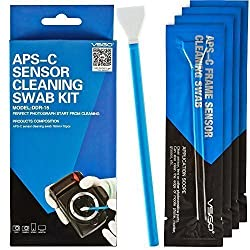 VSGO Professional Camera Sensor Cleaning Kit APS-C DSLR Sensor Cleaning Swabs For SLR Digital Cameras Cleaning
