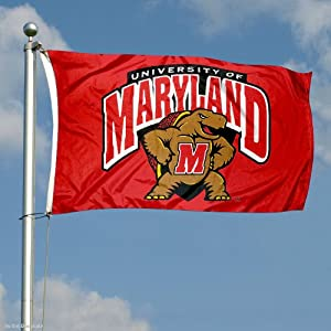 Buy Maryland Terrapins Double-Sided 3x5 Flag by College Flags and Banners Co.