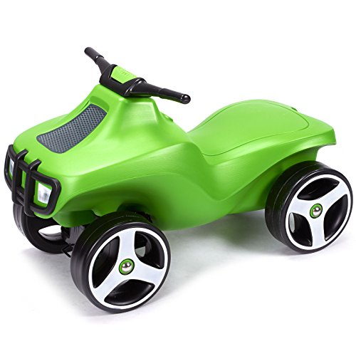 brumee Kinder Auto Fahrzeug Rutschauto Rutscher Lauflern Rutsch Fahrzeug (Crazee Grün)