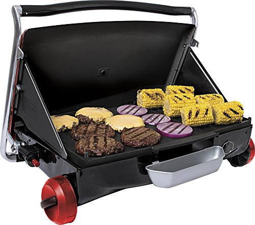 Portable Gas Grill - Red (George Foreman Grill Utensils compare prices)