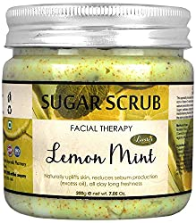 Luster Lemon Mint Sugar Scrub, 200 gms