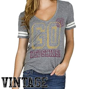 Washington Redskins - Tailgate Juniors Jersey T-Shirt by Junk Food Clothing Co.