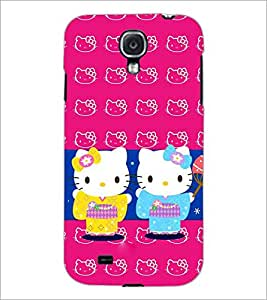 PrintDhaba Kitties D-3862 Back Case Cover for SAMSUNG GALAXY MEGA 6.3 (Multi-Coloured)