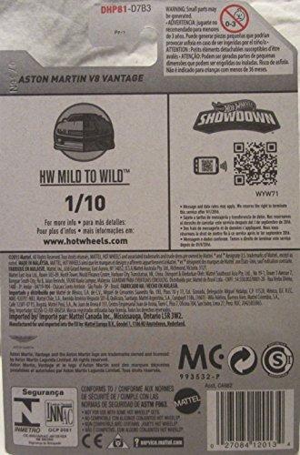 Hot Wheels, 2016 HW Mild to Wild, Aston Martin V8 Vantage [White] #56/250 (Aston Martin Model compare prices)