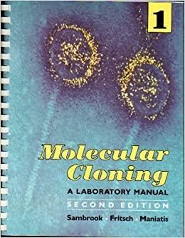 molecular cloning a laboratory manual 2nd edition