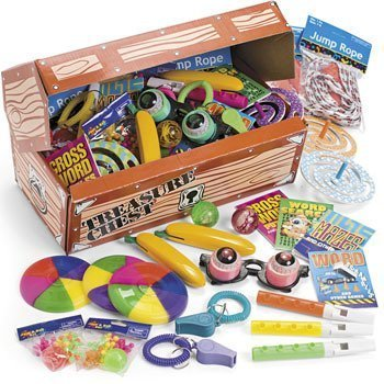 Fun Express Deluxe Treasure Chest Toy Assortment