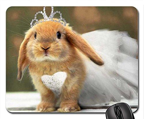 Ballerina Bunny Mouse Pad, Mousepad