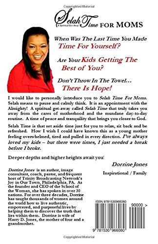 Selah Time  A Spiritual Get-Away  For MOMS